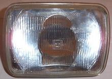12Vt Halogen H.light 200MM Square