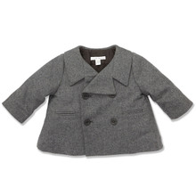 MINI WOOL PEA COAT