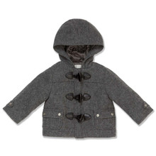 GREY DUFFLE COAT - BABY