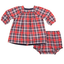 MINI TARTAN DRESS & BLOOMERS