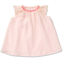 FLOATY PURE SILK DRESS - BABY