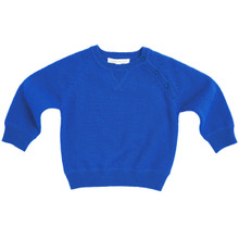 ROYAL BLUE CASHMERE SWEATER