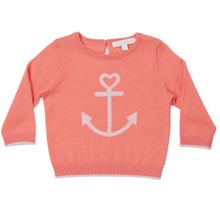 Mini Summer Cashmere Anchor Sweater
