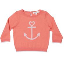 Mini Summer Cashmere Anchor Sweater