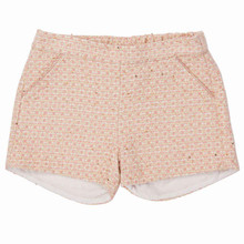 Pink Summer tweed Short