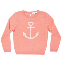 Summer Cashmere Anchor Sweater