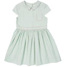 Poplin Dress - Misty Blue