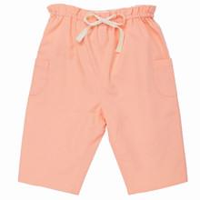 Poplin Pull on Trouser - Peach