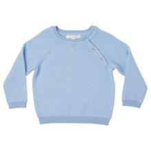 Mini Cashmere Sweater - Pale Blue
