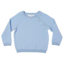 Mini Cashmere Sweater - Pale Blue