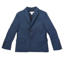 Cotton Suit Jacket - Navy