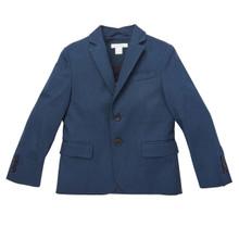 Cotton Suit Jacket - Navy