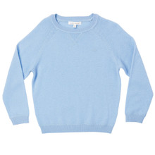Boy Cashmere Sweater - Pale Blue