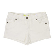 Heart Pocket Short - White