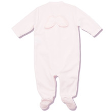 VELOUR ANGEL WING ONESIE - PINK