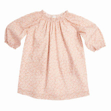 DAISY PRINT BABY RAGLAN SLEEVE DRESS - PINK