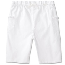 COTTON PULL ON TROUSER - WHITE
