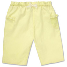 COTTON PULL ON TROUSER - LIME