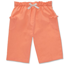 COTTON PULL ON TROUSER - BRIGHT ORANGE