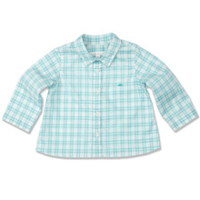LONG SLEEVE SHIRT - AQUA