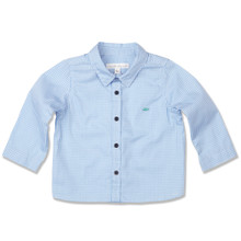LONG SLEEVE SHIRT - BLUE