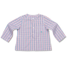 GRANDAD SHIRT - MULTI CHECK