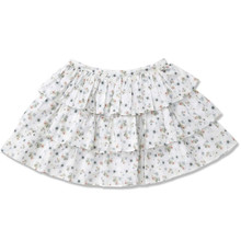 TIERED SKIRT - SPRING BLOOM PRINT