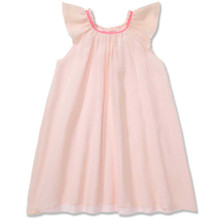 FLOATY PURE SILK DRESS - PALE PINK