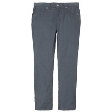 SOFT CORD TROUSER - GREY