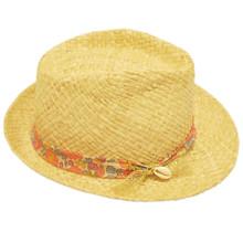 Straw Hat - Liberty Flower
