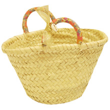 Straw Bag - Liberty Flower