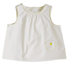 Mini Sleeveless Blouse - Off White