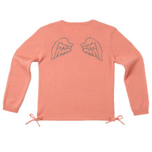 ANGEL WING SWEATER - ROSE