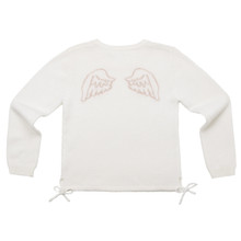 ANGEL WING SWEATER - CREAM