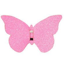 Butterfly Hair Clip - Pink