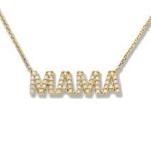 MAMA NECKLACE - YELLOW GOLD
