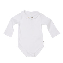 Baby Boy Mouse & Cheese Onesie - White