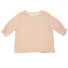Velvet Top - Pearl Pink