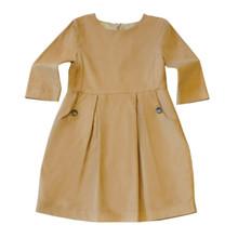 Cord Dress - Caramel