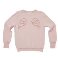 Angel Wing Cashmere Sweater - Pink