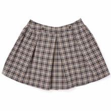 Classic Tartan Skirt - Grey/Camel