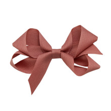 Medium Hair Bow - Terra Cotta