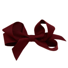 Medium Hair Bow - Beetroot