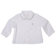 Baby Formal Shirt - White