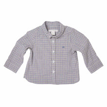 Baby Checkered Shirt - Grey/Navy