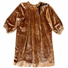 Velvet Dress - Gold