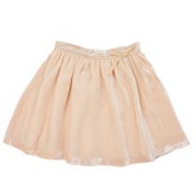 Velvet Skirt - Pearl Pink