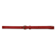 SKINNY BELT - RED
