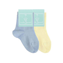 Pack of 2 Baby Cotton Socks