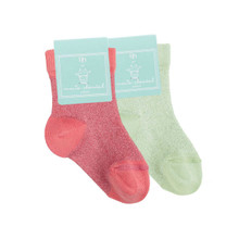 Pack of 2 Baby Sparkle Socks
